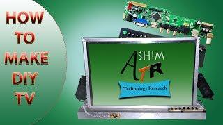 DIY LCD LED TV  UNIVERSAL LCD BOARD V56.03 , V59, V29 #10