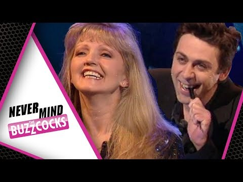 'WORST IRISH CUSS' Sean Hughes Identifies Linda Nolan  Never Mind The Buzzcocks