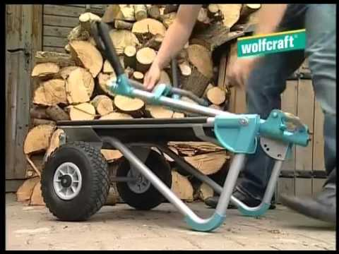 5520000 wolfcraft ts 1000 moln rkocsi sszecsukhat youtube. Black Bedroom Furniture Sets. Home Design Ideas