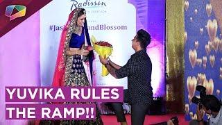 Yuvika Chaudhary Nails It On The Ramp