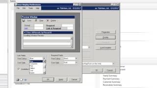 Microsoft Dynamics GP - Setting your User Preferences