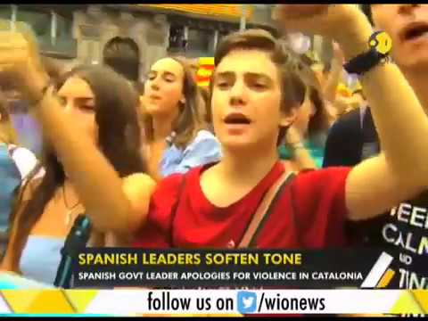 WION Gravitas:  Spanish government leader apologies for violence in Catalonia
