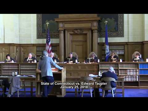 State of Connecticut vs. Edward Taupier CT Supreme Court Arguments