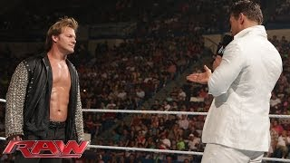 Chris Jericho and The Miz return to WWE: Raw, June 30, 2014