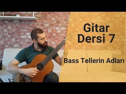 Klasik Gitar Dersleri | Gitarda Notalar - Telleri ve Adları