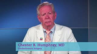 Meet Chester Humphrey, MD, Cardiac Surgeon