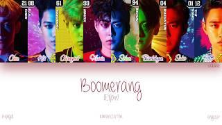 [HAN ROM ENG] EXO - Boomerang (부메랑) (Color Coded Lyrics)