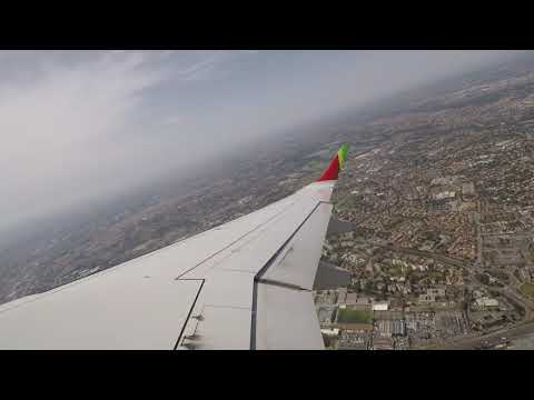 TAP E190 Startup, Taxi, Takeoff from Toulouse - GoPro Hero 5