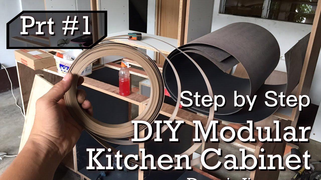 DIY Modular Kitchen Cabinet Manila Philippines - YouTube