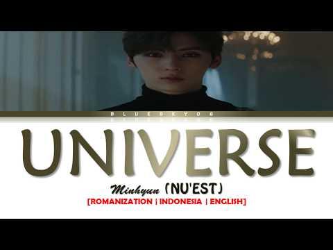 MINHYUN (NU'EST) – 'UNIVERSE (별의 언어)' LYRICS [Color Coded SUB ROM/INDO/ENG] | SUB INDO