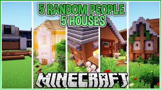 I Got 5 Strangers to Build me a Minecraft House!