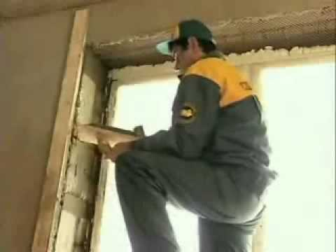 Откосы из цементного раствора ремонт бетонного пола на складе своими руками состав смеси