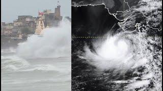 Cyclone Vayu | Over 1 lakh evacuated ahead of cyclone's landfall in Gujarat