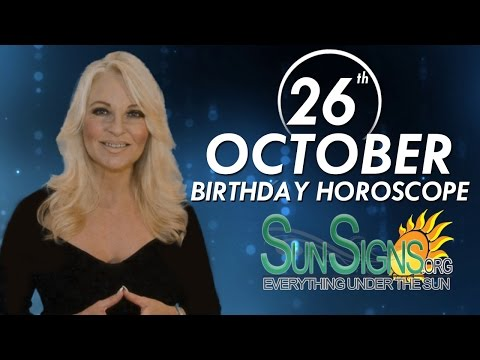 Birthday October 26th Horoscope Personality Zodiac Sign Scorpio Astrology
