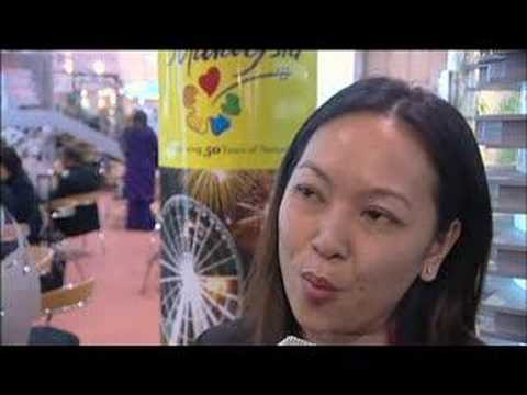 Michelle Cheang, Director of Sales, Tours & Travel, Genting International @ ITB Berlin 2008