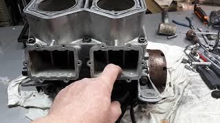 Как закачать масло в двигатель после ремонта. Сахалин. Апасный бокс.