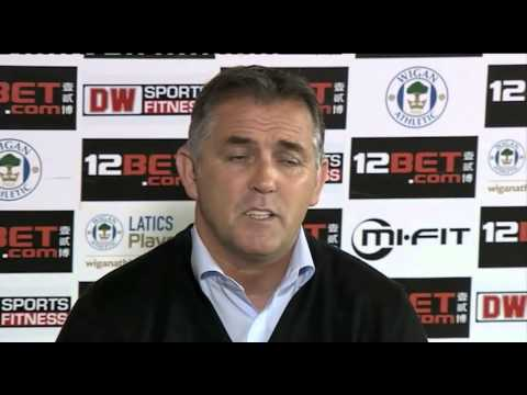 Owen Coyle on his new role as Wigan manager