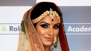 Bridal Look - Indian Hindu Style #IndianBride #BridalMakeup #HarshanRakesh