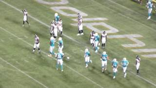Arian Foster reception/Falcons stuff run/Arian Foster touchdown run/Andrew Franks extra point