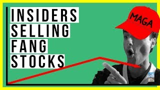 Insiders Selling Billions of FANG Stocks RIGHT NOW! Warren Buffett Sold $7 Billion of THIS Company!