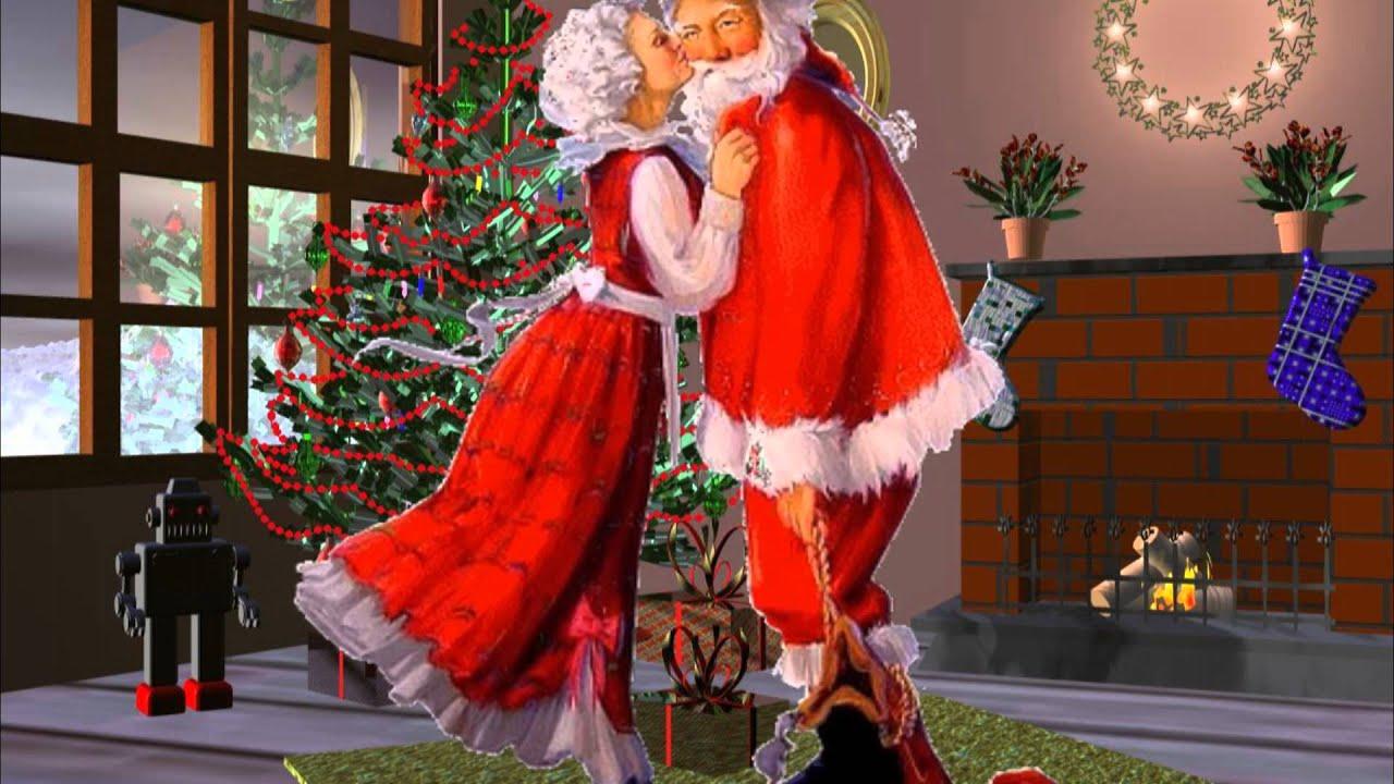 Alain morisod et sweet people j 39 ai vu maman embrasser le - Pere noel et mere noel ...