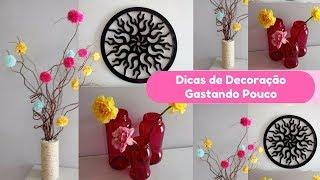 IDEIAS FÁCEIS E BARATINHAS DE DECORAÇÃO PARA CASA | Carla oliveira