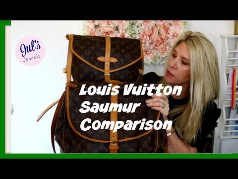 Louis Vuitton Comparison– LV Saumur eBay Japan