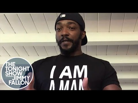 Anthony Mackie Wants to Register One Million Men to Vote