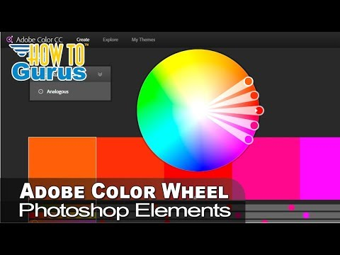 How To Use The Adobe Color Wheel To Enhance Adobe Photoshop Elements