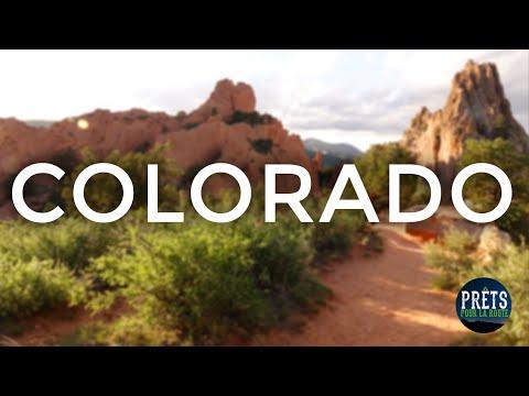 Colorado Springs, Pikes Peak, Garden of the Gods - Une visite au Colorado