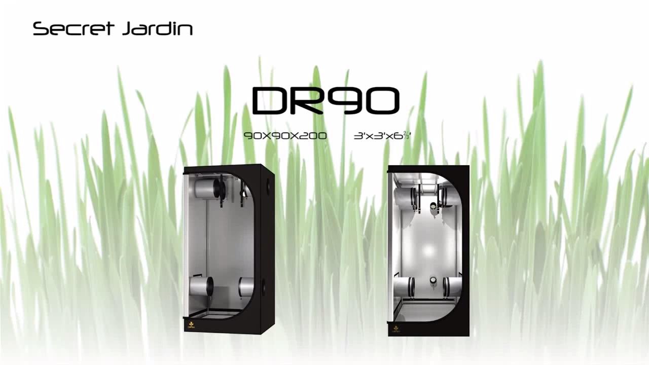 How To Set Up Secret Jardin Grow Tent DR90 | Product Tutorial Sc 1 St YouTube  sc 1 st  memphite.com & Grow Tent Corner Pieces u0026 Sc 1 St The Hydro Store
