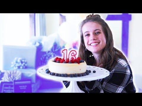 MY 16TH BIRTHDAY WEEKEND