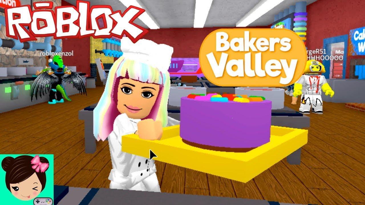 Juego De Pasteleria En Roblox Bakers Valley Con Titi Juegos Youtube