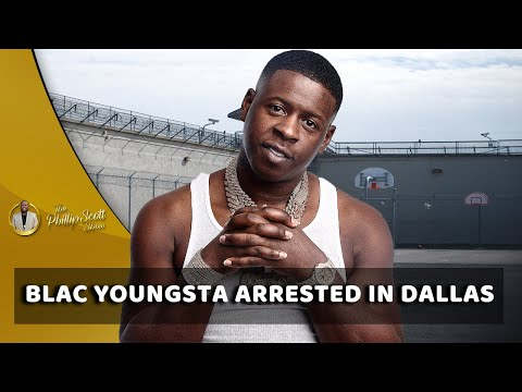 Blac Youngsta Arrested For Unlawful Possession Of A Weapon In Dallas