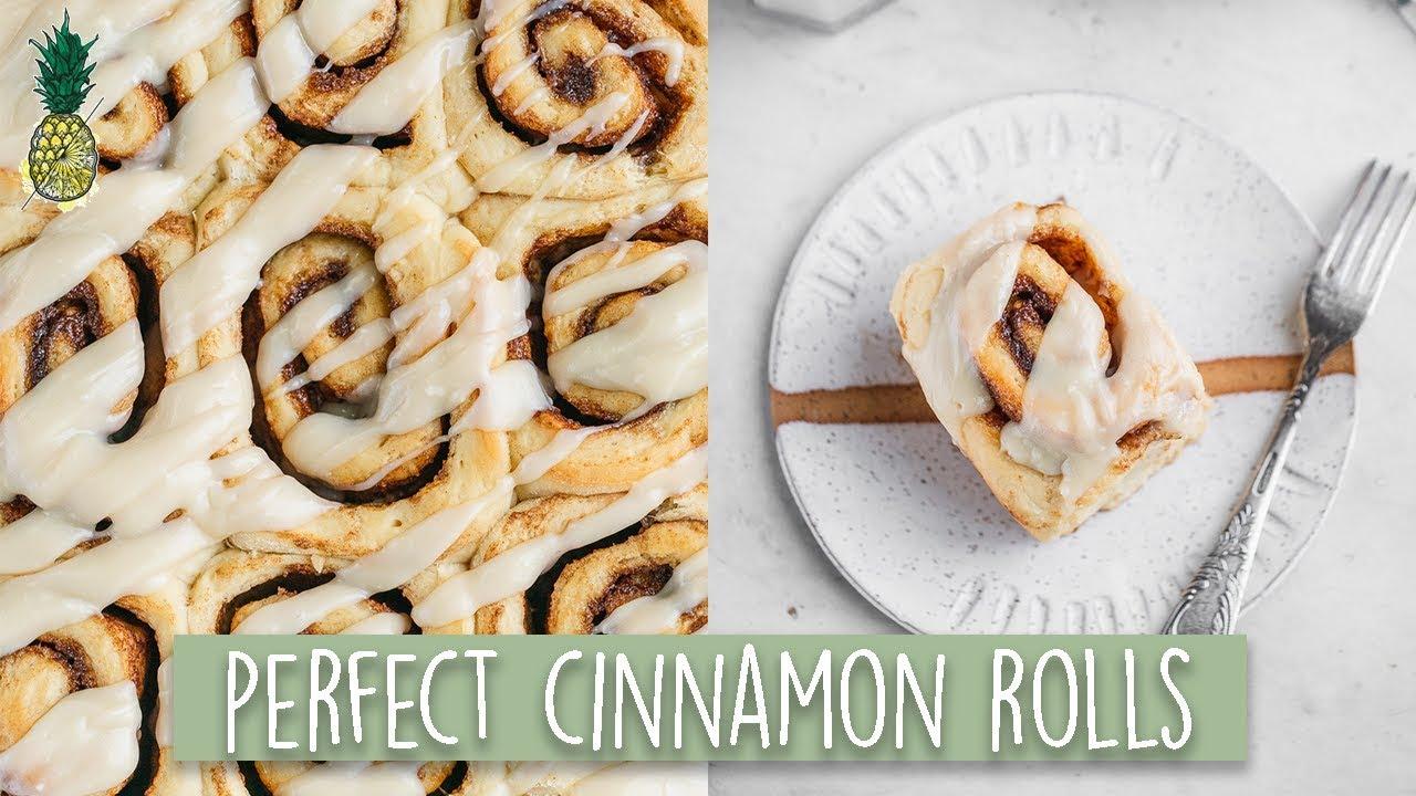 Easy & Fluffy Vegan Cinnamon Rolls