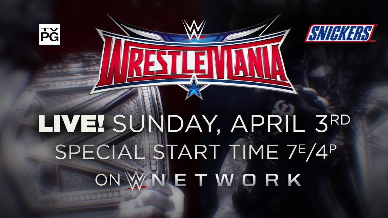 Watch Wrestlemania On April 3, Live On Wwe Network - Youtube-2084