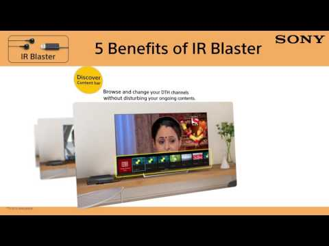 SONY Android TV : IR Blaster