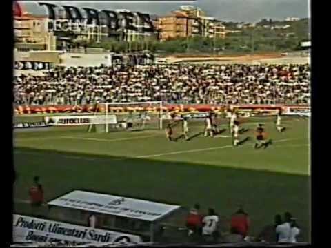 1988/89, Serie C1, Torres - Cagliari 1-1 (07)
