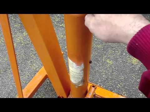How To Bleed an Engine Hoist Easy as 123