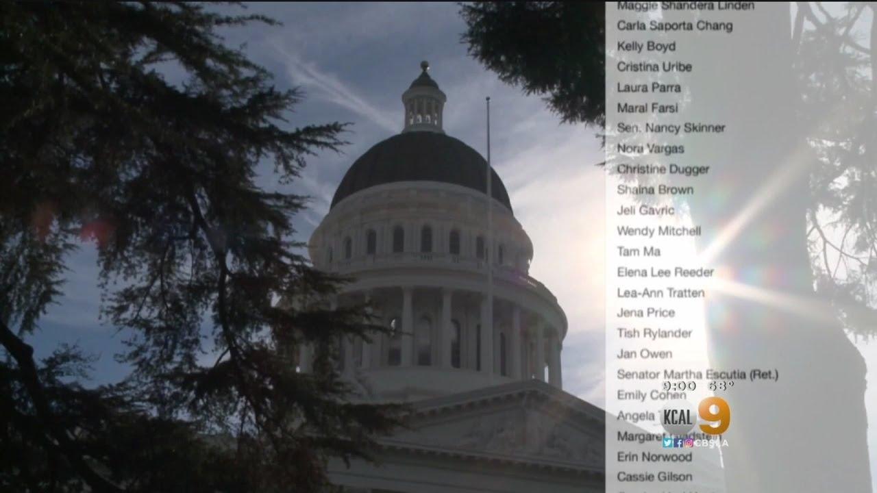 #MeToo Movement Reaches California Capitol
