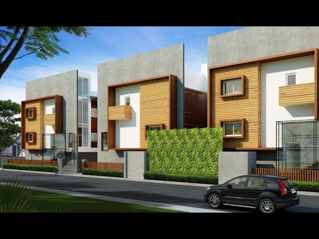 Ready to Occupy, 4 BHK Villas for sale in posh area of ECR - Call +91-9840951001/003 now!