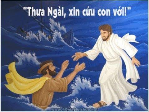 """THƯA NGÀI, XIN CỨU CON VỚI – Cầu nguyện –  """"Cứ yên tâm, chính Thầy đây, đừng sợ!"""""""