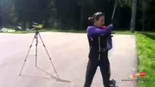 Victoria Padial, el alma del biatlón español
