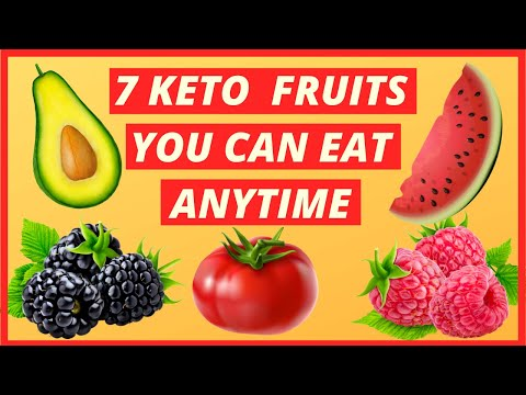 7 Keto Fruits You Can Eat As Much As You Want To