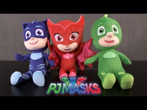 PJ Masks Sing and Talk Catboy, Gekko & Owlette from Just Play