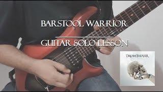 Dream Theater - Barstool Warrior - Guitar Solo (Lesson)