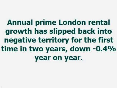 Rent Guarantee | Prime London rental market in negative territory