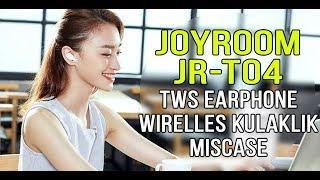 Joyroom JR-T04 TWS Earphone Wirelles Kulaklık Miscase