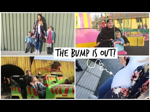 DITL - THE BUMP IS OUT & CREALY ADVENTURE PARK! | KERRY CONWAY