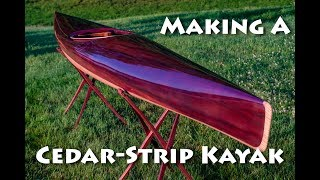 Making a Cedar Strip Kayak - micrBootlegger Sport Build Overview